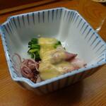 親爺 - ほたるいか酢味噌