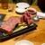焼肉JIN - 200224極ロースステーキ150g2960円、極タン元2580円