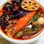 ドロッピン - 料理写真:チキン野菜+キノコ