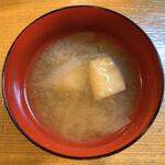 焼鳥 燈 - 味噌汁