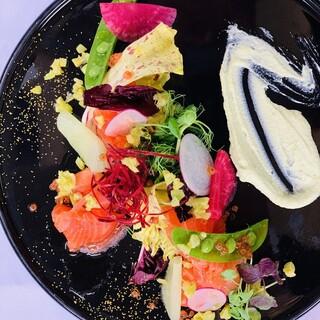 豊洲市場より新鮮なお魚と素材にこだわった季節野菜
