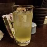 樂一樂坐 - 緑茶ハイ
