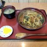 やま天 - 料理写真:カツカレー丼 1100円
