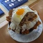 みかわ - もりもり肉丼(税込2300円) (1Kg)