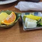 みかわ - パイナポー&オレンジ・漬物