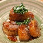 時喰み - 長芋 帆立 バター醤油焼き パルミジャーノ
