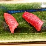 鮨 緒方 - 赤身と中トロ