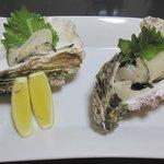 文六 - 料理写真:苓北産岩牡蠣