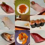 Yamachou - お寿司 8カン