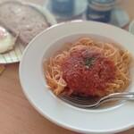 あぐれっしゅ - 料理写真:根菜ミートソース風パスタ
