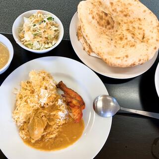 カシミール - 料理写真:ランチビュッフェ