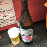 らーめんしょっぷ 中吉 - 中瓶