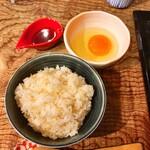 加藤商店 - 卵かけご飯追加