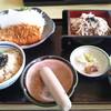 どんと - 料理写真:日替りランチ(トンカツ)