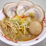 蟹専門 けいすけ 北の章 - 渡り蟹味噌ラーメン+スペシャルセット(イベント仕様)~☆