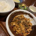 chuukashunsaimorimoto - 四川 麻婆豆腐ランチ