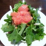 メルジェリーナ - セットのサラダ