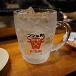 焼肉 鐵 - ジンと肉 550円
