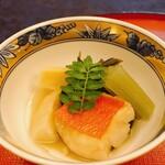 魚三楼 - 金目鯛と野菜