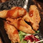 福の花 - 鶏皮餃子