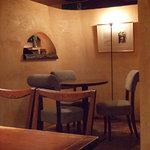 カフェ・ラ・バスティーユ - 店内_バスティーユ
