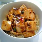 麻婆豆腐 辣 - 麻婆豆腐+麺