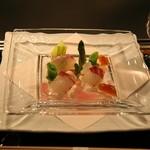 横浜うかい亭 - コースの前菜