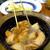 鳥っち - 料理写真:にんにくの太白ごま油揚げ