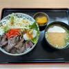 福島松川パーキングエリア 上り - 料理写真:柔らか牛ハラミ丼 870円税込