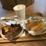 TROIS CINQ - 板あめソフトクリーム 大正ロマンケーキ 信州完熟りんごのパイ 訪問時期は9月下旬