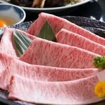 米沢牛黄木 金剛閣 すき焼き しゃぶしゃぶ 毘沙門 - すき焼き肉