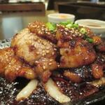 127013168 - 「とん豚焼肉定食」(930円)