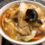中国料理 龍門 - ミニ五目麺