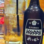 飲食笑商何屋ねこ膳 - ホッピーセット¥400:臨界ではありません