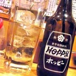 飲食笑商何屋ねこ膳 - 焼酎おかわり¥200