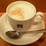 ドトールコーヒーショップ - 豆乳ラテ:290円 (2012年4月)