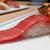 魚錠 - 料理写真:本鮪中とろ(板さんのおまかせ8貫盛)