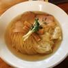 麺処 清水 - 料理写真:塩煮干しワンタンそば
