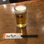 とさ市場 - 生ビール