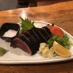 とさ市場 - 生搾り塩藁焼きタタキ(塩)