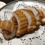 Kantonryourisuirengetsu - イカの天ぷら