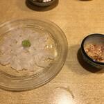 美家古鮨 - カワハギ刺し