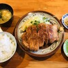 とんかつ ひやま - 料理写真:ロースカツ特大セット(2,750円)