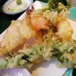 小嶋屋 - 春野菜の天ぷら