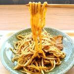 かふぇもんぺるん - 料理写真:もちもち❗なみえ焼きそば