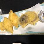 海の幸 魚長 - 穴子天ぷら