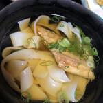 海の幸 魚長 - 穴子麺