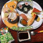 海の幸 魚長 - お子様寿司ランチ