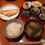 定食サトウ - タラの粕漬け1320円