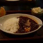 Cafe 住留 - 牛すじトロトロハヤシ